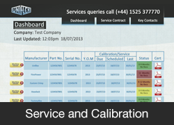 Service and Calibration